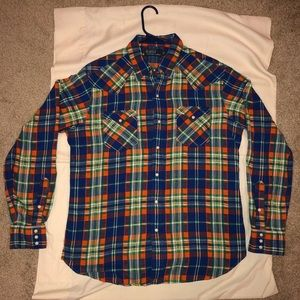 Polo by Ralph Lauren flannel button up! Flawless!